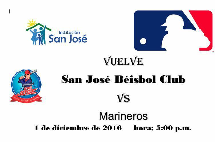 Grâce à votre soutien, les enfants de San José ont pu être inscrit au premier tournoi MLB en colombie!! Merci à tous!